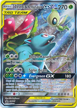 Buy Celebi & Venusaur-GX - SM167 - Alternate Full Art and more Great Pokemon Products at 401 Games