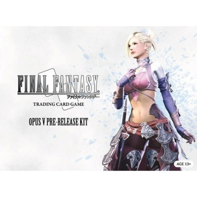 Buy Final Fantasy TCG Opus: V Pre-Release Kit and more Great Final Fantasy TCG Products at 401 Games