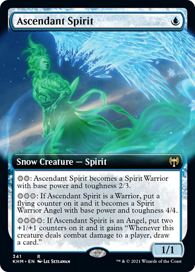 Ascendant Spirit - Extended Art (KHM) available at 401 Games Canada