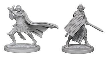 Buy Pathfinder Deep Cuts Unpainted Minis: Elf Male Paladin and more Great RPG Products at 401 Games