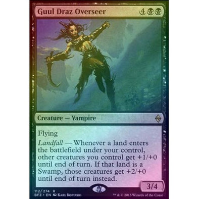 Guul Draz Overseer (Foil) (BFZ) available at 401 Games Canada