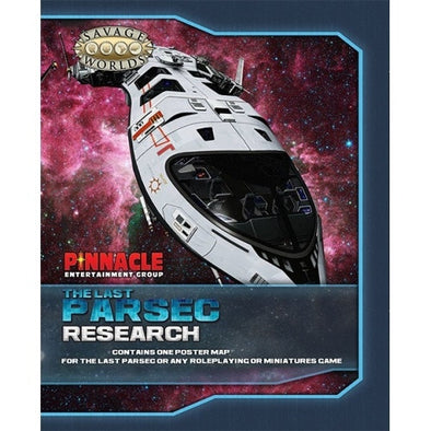 Buy Savage Worlds - The Last Parsec - Research Ship/Pirate Ship and more Great RPG Products at 401 Games