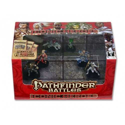Buy Pathfinder Battles - Iconic Heroes - Set 1 and more Great RPG Products at 401 Games