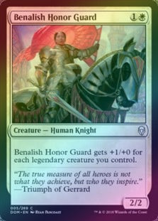 Benalish Honor Guard (Foil) (DOM) available at 401 Games Canada