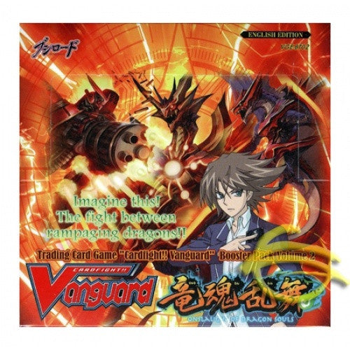 Buy Cardfight!! Vanguard - BT02 - Onslaught of the Dragon Souls Booster Box and more Great Cardfight!! Vanguard Products at 401 Games