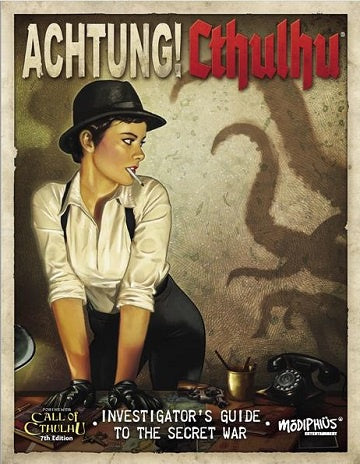 Call of Cthulhu - Achtung! Cthulhu Investigator's Guide to the Secret War (Pre-Order) - 401 Games