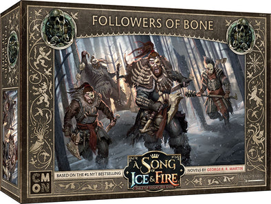 A Song of Ice and Fire - Tabletop Miniatures Game - Free Folk - Followers of Bone - 401 Games