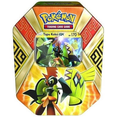 Buy Pokemon - Island Guardians Summer 2017 - Tapu Koko-GX Tin and more Great Pokemon Products at 401 Games
