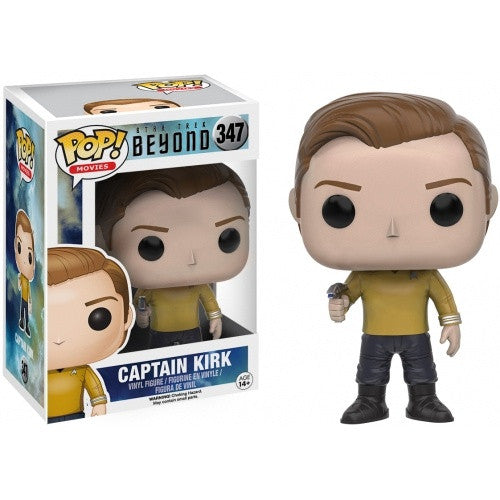 Buy Pop! Star Trek Beyond - Captain Kirk and more Great Funko & POP! Products at 401 Games