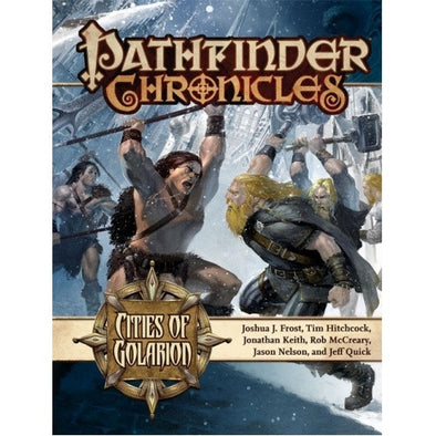 Pathfinder - Campaign Setting - Cities of Golarion - 401 Games