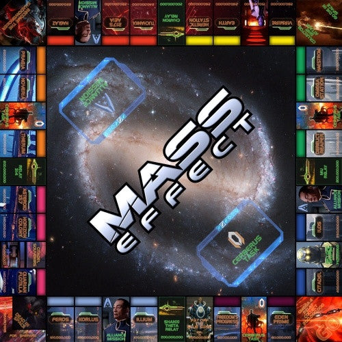 Monopoly - Mass Effect - 401 Games