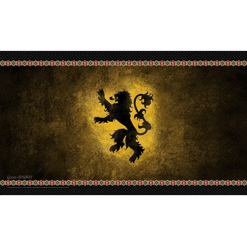 Game of Thrones Living Card Game - House Lannister Playmat