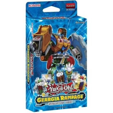 Buy Yugioh - Geargia Rampage - Structure Deck and more Great Yugioh Products at 401 Games