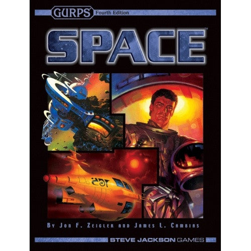 Buy Gurps - Space (Softcover) and more Great RPG Products at 401 Games