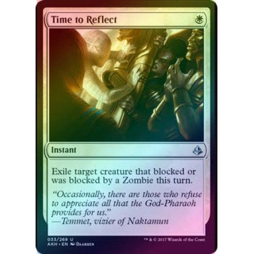 Time to Reflect (Foil) (AKH) available at 401 Games Canada
