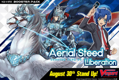 CARDFIGHT VANGUARD - V BOOSTER SET 05: AERIAL STEED LIBERATION CASE (PRE-ORDER AUGUST 30, 2019) - 401 Games