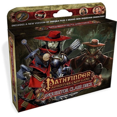 Buy Pathfinder Adventure Card Game - Inquisitor Class Deck and more Great Board Games Products at 401 Games