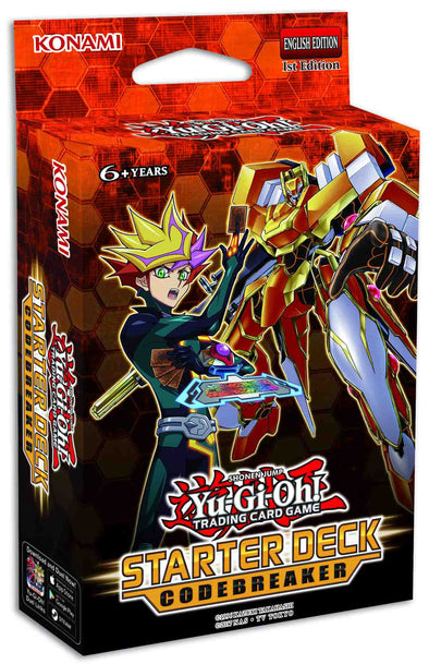 Buy Yugioh - Starter Deck: Codebreaker and more Great Yugioh Products at 401 Games