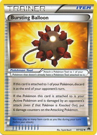 Buy Bursting Balloon - 97/122 and more Great Pokemon Products at 401 Games