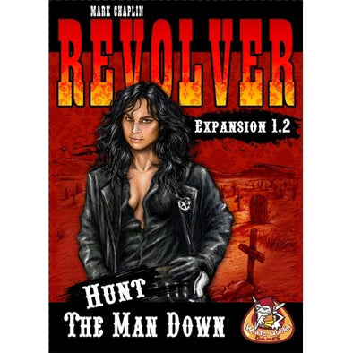 Buy Revolver Expansion 1.2 - Hunt the Man Down and more Great Board Games Products at 401 Games