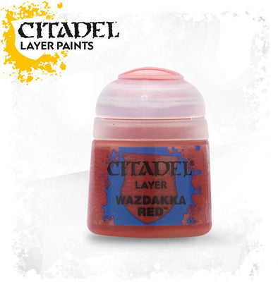 Buy Citadel Layer - Wazdakka Red and more Great Games Workshop Products at 401 Games