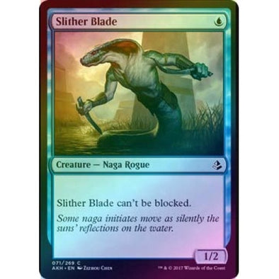 Slither Blade (Foil) (AKH) available at 401 Games Canada