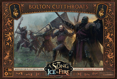 A Song of Ice and Fire - Tabletop Miniatures Game - Neutral Forces - Bolton Cutthroats - 401 Games