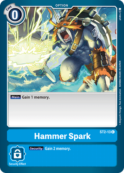 Hammer Spark (ST2-13) available at 401 Games Canada