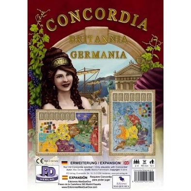Concordia - Britannia/Germania - 401 Games