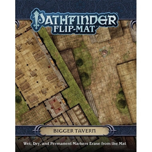 Pathfinder - Flip Mat - Bigger Tavern - 401 Games