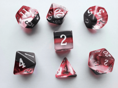 Little Dragon - Birthstone Dice - Red Topaz (November)