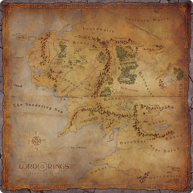 The Lord of the Rings: Journeys in Middle-Earth Playmat (Pre-Order)