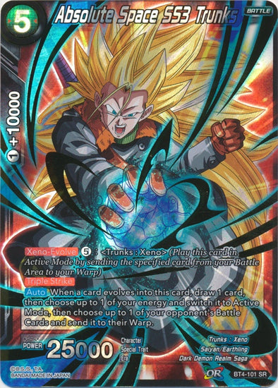 Absolute Space SS3 Trunks - (Super Rare) available at 401 Games Canada
