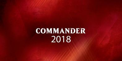 Buy MTG - Commander 2018 - Set of Four and more Great Magic: The Gathering Products at 401 Games