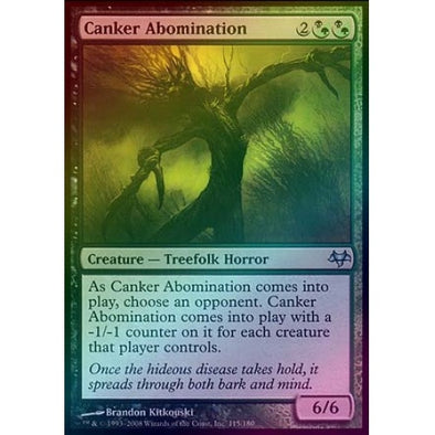 Canker Abomination (Foil) (EVE) available at 401 Games Canada