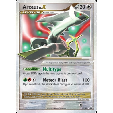 Buy Arceus LV.X - 95/99 and more Great Pokemon Products at 401 Games