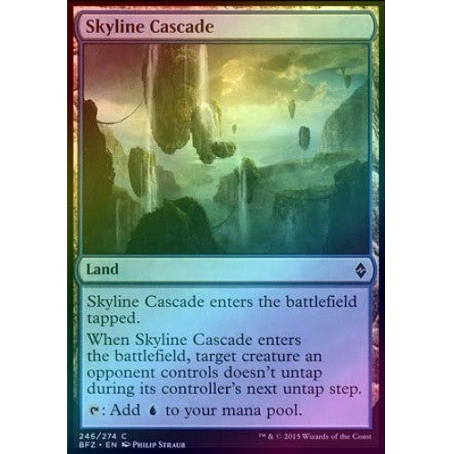 Skyline Cascade (Foil) (BFZ) available at 401 Games Canada