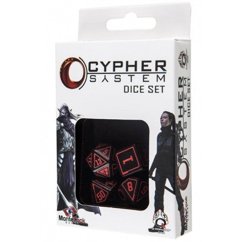 Dice Set - Q-Workshop - 4 Piece Set - Cypher System - 401 Games
