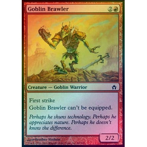 Goblin Brawler (Foil) (5DN) available at 401 Games Canada