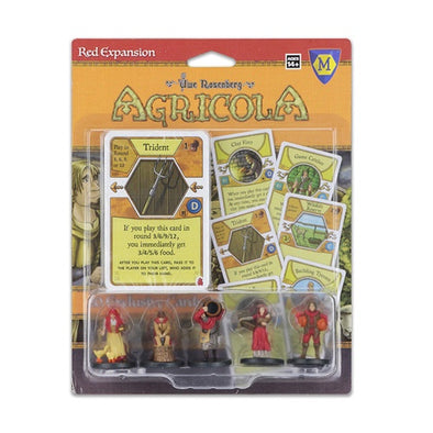Agricola - Game Expansion - Red - 401 Games