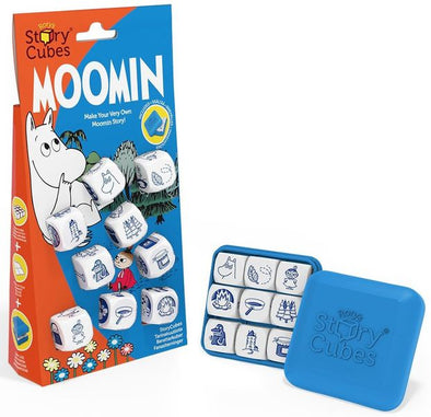 Rory's Story Cubes - Moomin available at 401 Games Canada