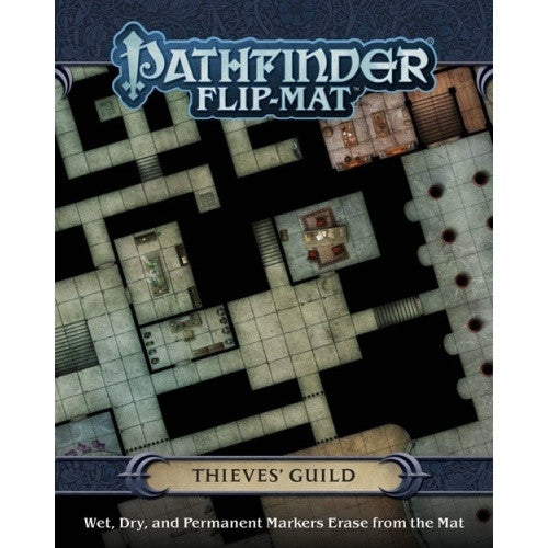 Pathfinder - Flip Mat - Thieve's Guild available at 401 Games Canada