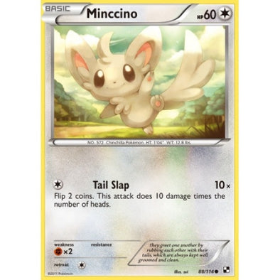 Buy Minccino - 88/114 and more Great Pokemon Products at 401 Games