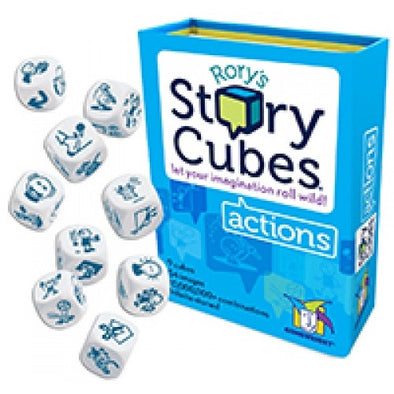 Rory's Story Cubes Actions (Blister Box) - 401 Games