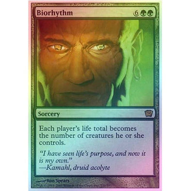 Biorhythm (Foil) available at 401 Games Canada