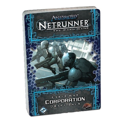 Buy Android - Netrunner - Cyber War - Draft Pack - Corp and more Great Board Games Products at 401 Games