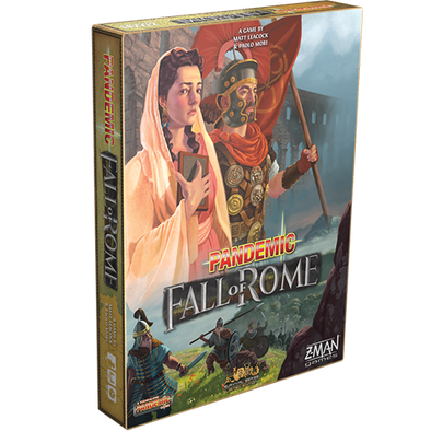 Buy Pandemic - Fall of Rome and more Great Board Games Products at 401 Games