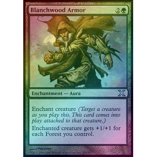 Blanchwood Armor (Foil) available at 401 Games Canada