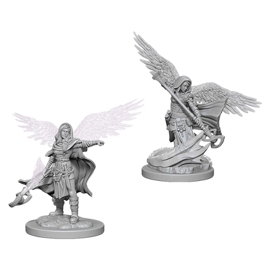 Buy Dungeons and Dragons Nolzur's Marvelous Unpainted Minis: Aasimar Female Wizard and more Great RPG Products at 401 Games