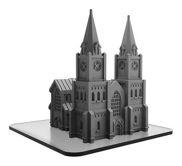 Monsterpocalypse Miniatures Game - Building - Cathedral (Pre-Order) - 401 Games